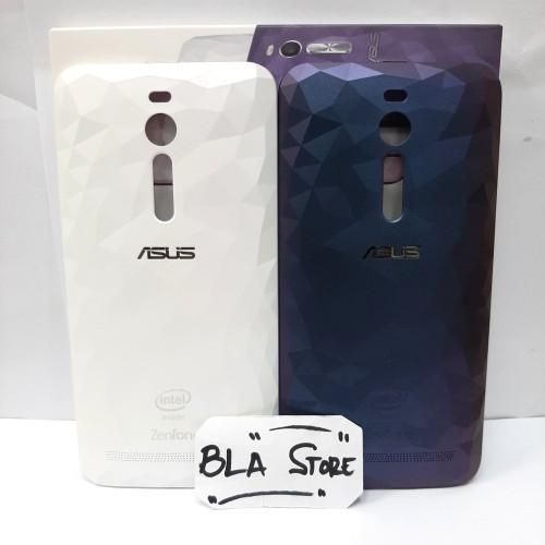 Foto Produk Back Cover Casing Asus Zenfone 2 ZE550 ZE551 Z00AD Z008D Case illusion - Biru dari BLA STORE