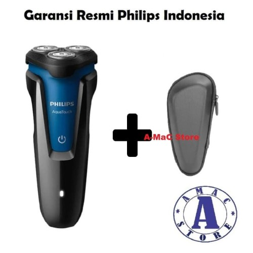 Foto Produk Paket PHILIPS Shaver Aqua Touch S1030 + Pouch dari amac store