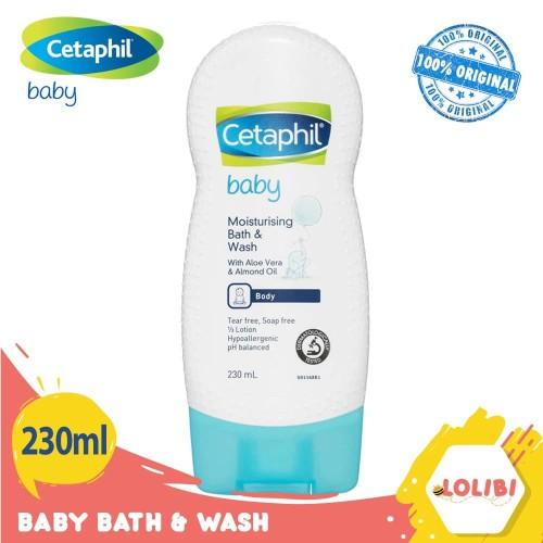 Foto Produk Cetaphil Baby Ultra Moisturizing Bath & Wash 230ml dari Lolibi