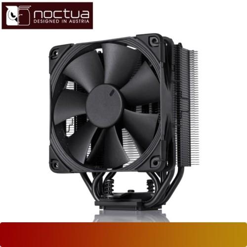 Foto Produk Air CPU Cooler NOCTUA - NH-U12S CHROMAX.BLACK, Intel & AMD, 12CM Fan dari Nano Komputer