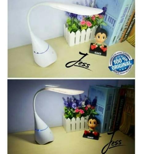 Foto Produk Speaker Music TOYO S6 Bluetooth Wireless + Lampu LED Belajar Desk Lamp - Hitam dari Jess grosir accessories