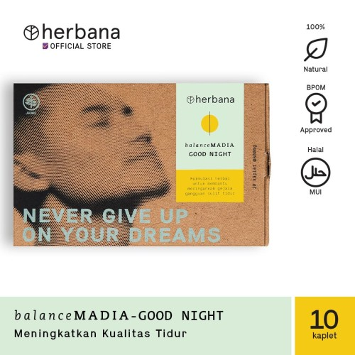 Foto Produk Herbana Balance Madia Good Night - 10 Kaplet dari HERBANA