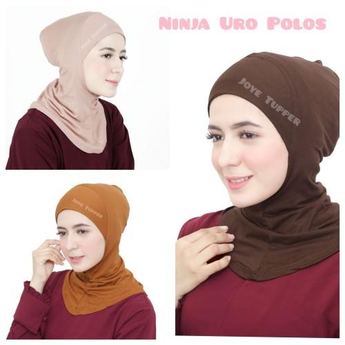 Foto Produk Ciput Ninja Uro/Inner Hijab/Antem/Inner Simple/Dalaman Kerudung dari Joye Tupper