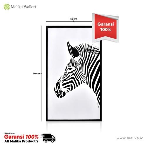 Foto Produk Hiasan Dinding Lasercut 'Zebra' Kekinian dari malikawallart