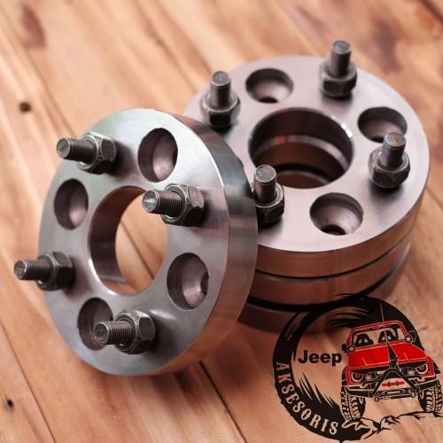 Foto Produk Adaptor velg 2.5cm H4x100 jazz freed yaris karimun baleno dll dari Jeep Aksesoris