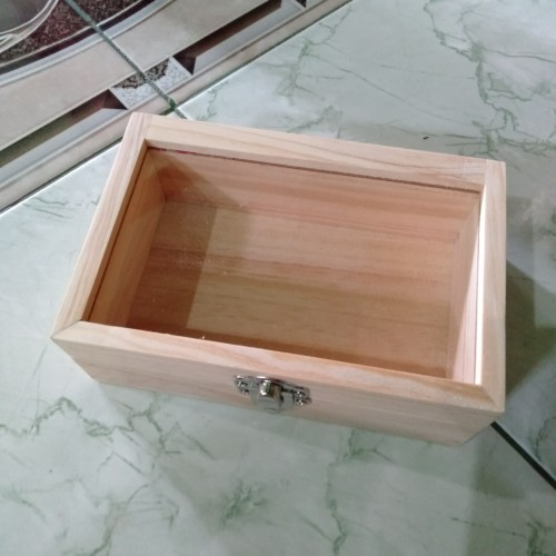Foto Produk kotak kayu akrilik 20x15x5cm dari Muthoyibah