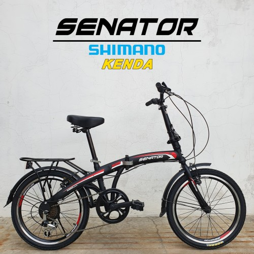 Foto Produk SEPEDA LIPAT SENATOR FOLDING BIKE 7 SPEED dari bikewarehouse
