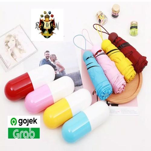 Foto Produk Payung Kapsul Payung Mini lipat 3 Micro Capsule Umbrella anti UV dari Mark Ryden Shop888