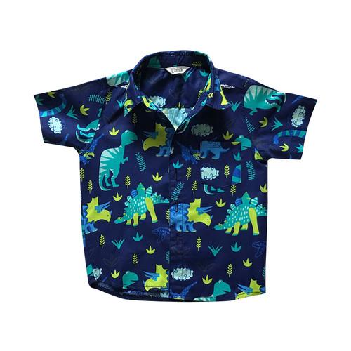 Foto Produk Lumik Navy Dinosaurus Baby Shirt - 2-3 tahun dari Lumik Baby Shop
