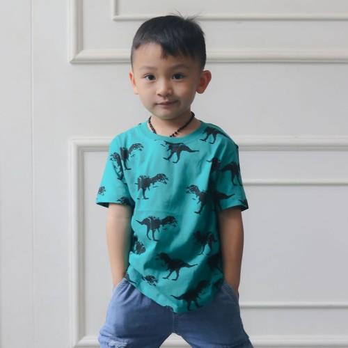 Foto Produk Kaos Anak Dino Full Print - L080 - SMALL dari Little Jergio