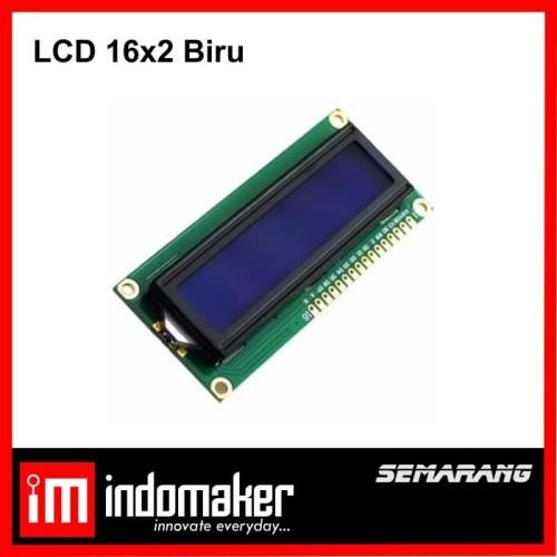 Foto Produk [G10] - LCD 16x2 / 1602 Display Arduino Raspberry LCD 16 x 2 Biru dari indomaker