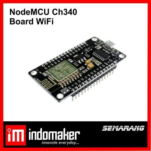 Foto Produk [E9] - NodeMcu ESP8266 esp12e WIFI development board CH340 V3 dari indomaker