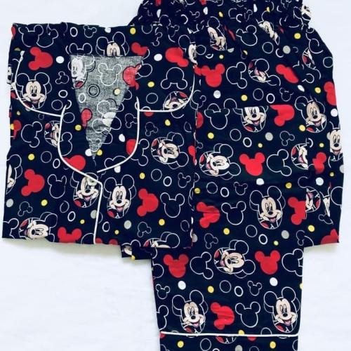 Foto Produk Baju tidur piyama dewasa TERMURAH keropi/bear celana panjang le dari Chris Aryana