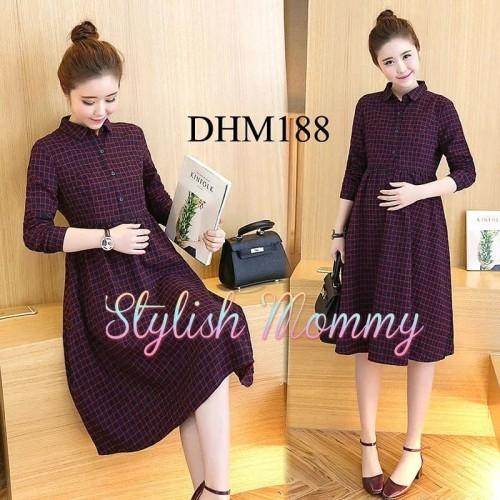 Foto Produk Dress Hamil dan Menyusui DHM188 - XL dari StylishMommy