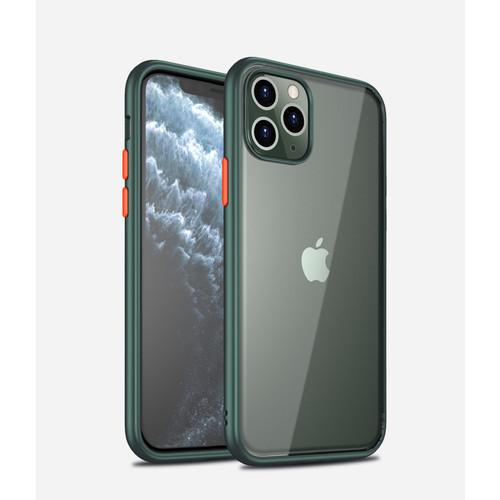 Foto Produk Premium Acrylic Case iPhone 11 Case iPhone 11 Pro iPhone 11 Pro Max - Hijau, iPhone 11 dari Allforgadget