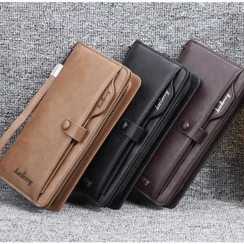 Foto Produk Wallet Dompet Panjang / Dompet Kulit Kartu Unisex Baellerry BL081 dari Eds collection