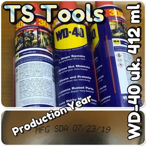 Foto Produk Pelumas WD 40 412 ML / WD40 412ML dari TS Tools