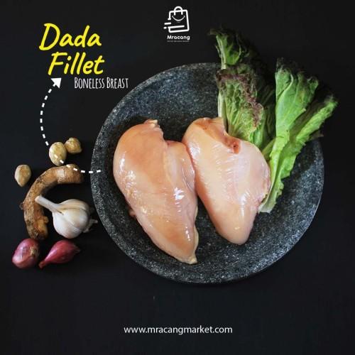 Foto Produk DADA FILLET / BONELESS BREAST AYAM BROILER SURABAYA MURAH BERKUALITAS dari Mracang Market