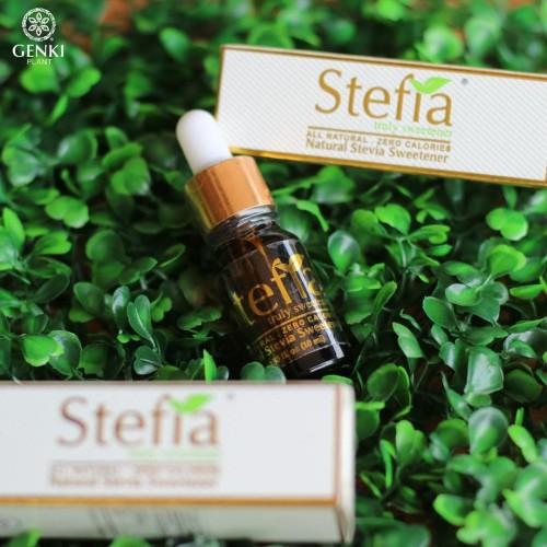 Foto Produk Stefia Truly Sweetener (Stevia Cair) - 10 ml dari Genki Plant