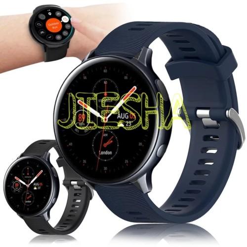 Foto Produk STRAP BAND SAMSUNG GALAXY WATCH ACTIVE 2 40MM 44MM GARMIN STYLE TALI dari Jiesha Shop