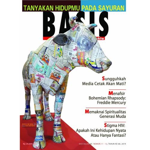 Foto Produk Majalah Basis No. 11-12, 2019 dari Toko Tjap Petroek