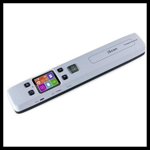 Foto Produk Sale Scanner Portable Full Warna 1050Dpi With Lcd Screen Iscan02 Puti dari zabdan amin
