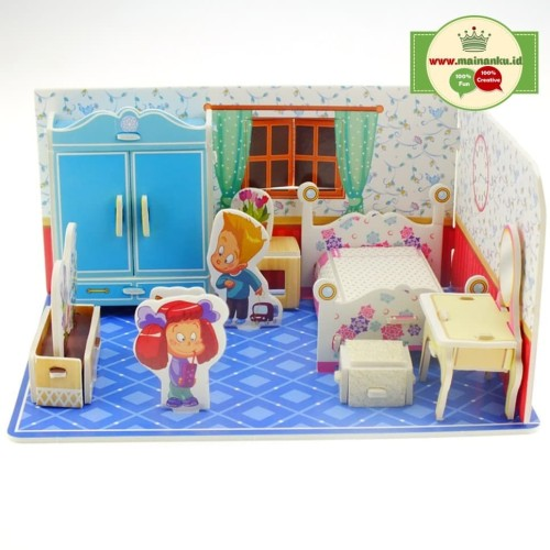 Foto Produk Mini 3D Puzzle KIDS ROOM | Kado Ultah Anak| Kado Anak - 1690-20 dari Cherish Online