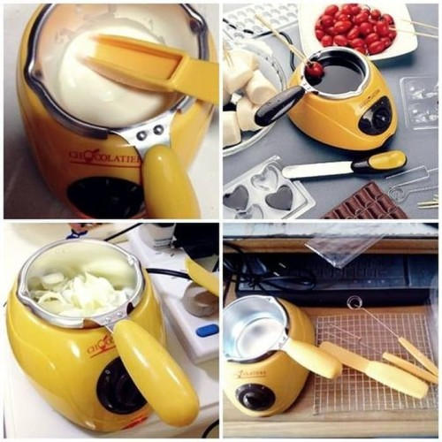 Foto Produk Mesin coklat / Chocolate melter / Alat Peleleh & Pencair Coklat Fondue dari aromakaldi