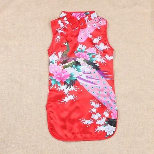 Foto Produk dress anak anak baju imlek tahun baru cina china cheongsam bayi baby dari BELL'S BOUTIQUE