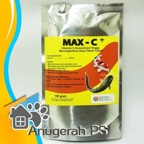 Foto Produk Max C+ Vitamin Ikan Dosis Tinggi dari Anugerah PS