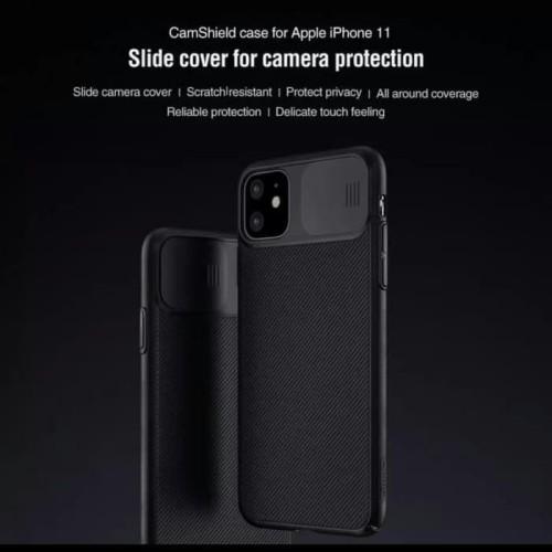 Foto Produk Nillkin Camshield Hardcase Case Casing iPhone 11/11 Pro/11 Pro Max dari SmartBuy-Mart