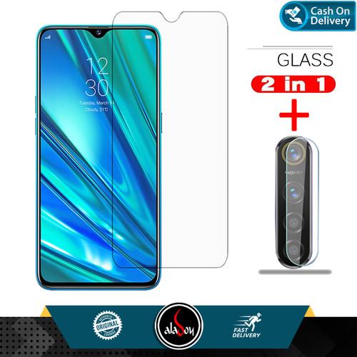 Foto Produk Aladoy Tempered Glass Layar Clear dan Lens Camera Realme 5 ( 6.5inch ) dari Multi Store 12