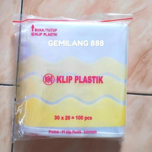 Foto Produk Plastik klip uk 20x30 - plastik Zipper lock dari Gemilang 888