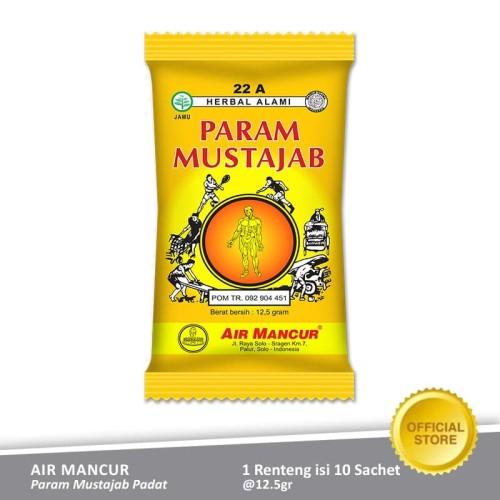 Foto Produk Air Mancur Param Param Mustajab Padat Sachet 10x12.5 gr - Renteng dari Air Mancur Official Shop