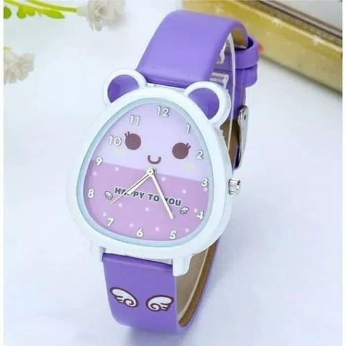Foto Produk Jam tangan anak perempuan anti air - Ungu dari FirePhoenix