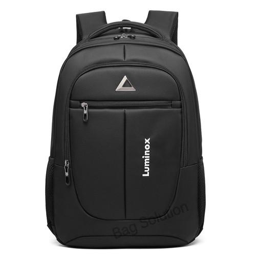 Foto Produk Luminox Tas Ransel Laptop Tas Pria Wanita Backpack 15 Inch (bag Cover) - Hitam dari Bag Solution