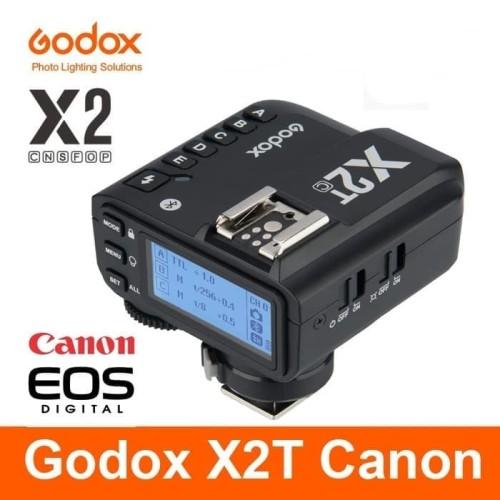 Foto Produk GODOX X2T for CANON wireless trigger transmiter X2 HSS TTL XT2 LIGHT dari mido city