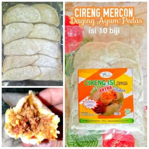 Foto Produk Cireng mercon isi ayam shaza isi 10 pcs dari Hanum Collection