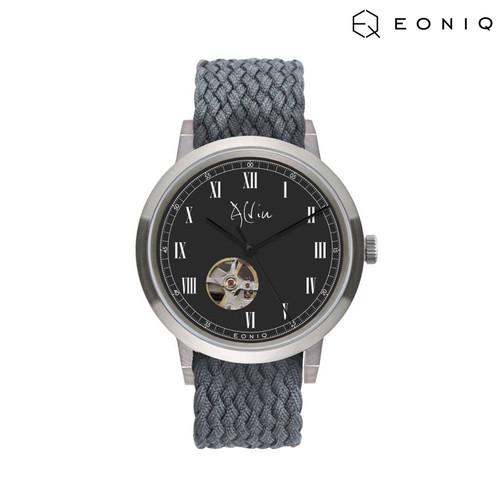 Foto Produk Jam Tangan Custom Mekanik EONIQ Pinot Blanc (38 mm) - Perlon Strap dari EONIQ