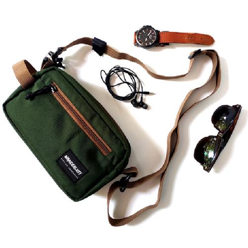Foto Produk Geneva Olive Wanderlust - Pouch Bag Handbag Clutch Travel Organizer dari Wanderlustbag Official
