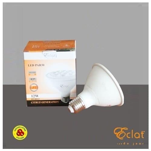 Foto Produk Eclat LED PAR30 12W Kuning E27 Bohlam Lampu Sorot LED 12 Watt WW 220V dari Gudang Listrik