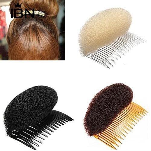 Foto Produk Hair donut Hair bun cepol sanggul donat aksesoris rambut - Cokelat dari fairystuffs