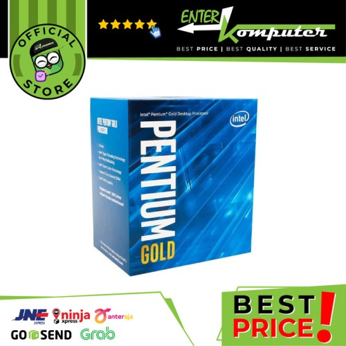 Foto Produk Intel Pentium Gold G5400 3.7Ghz - Cache 4MB [Box] Socket LGA 1151 dari Enter Komputer Official