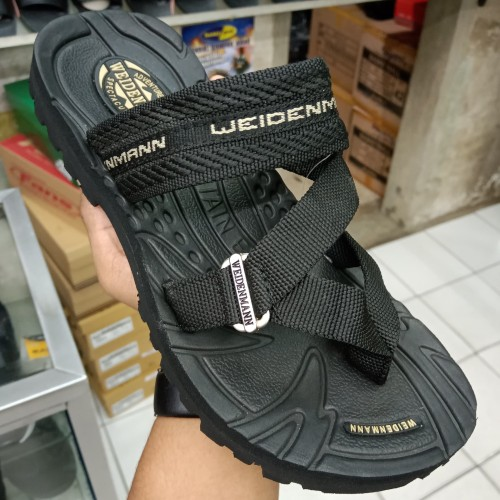 Foto Produk Sandal Pria WEIDENMANN - STONER 05 - Hitam, 38 dari ANITA shoes