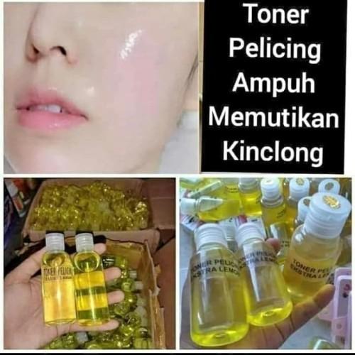 Foto Produk Toner Pelicin Wajah Ekstra Lemon pemutih wajah dari DienaShop