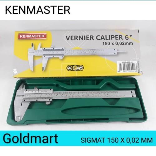 Foto Produk Kenmaster Sigmat - Vernier Caliper jangka sorong dari Gold-Mart