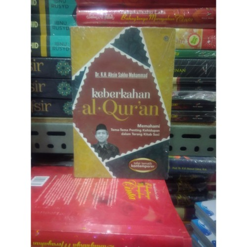Foto Produk Buku Keberkahan Al Qur'an By Dr KH Ahsin Sakho Muhammad ORI SC dari TOKO Grosir Buku