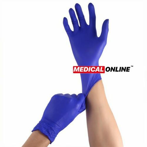 Foto Produk SARUNG TANGAN NITRILE BIRU / BLUE EDITION POWDER FREE SAFEGUARD dari Medical Online Indonesia