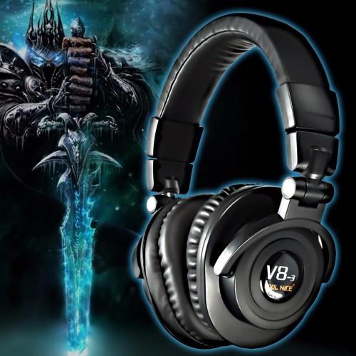 Foto Produk Headphone Bluetooth Lipat V8-3 Bass Headset Stereo Kuat Membatalkan dari Fixbeli