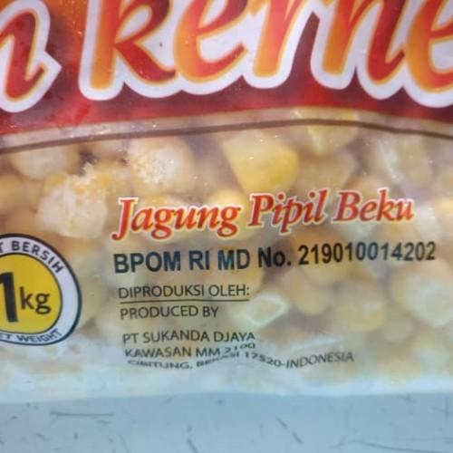 Foto Produk Golden Farm Jagung Manis HOT SALE / Kernel Corn 1 KG Frozen Hal dari darilynn